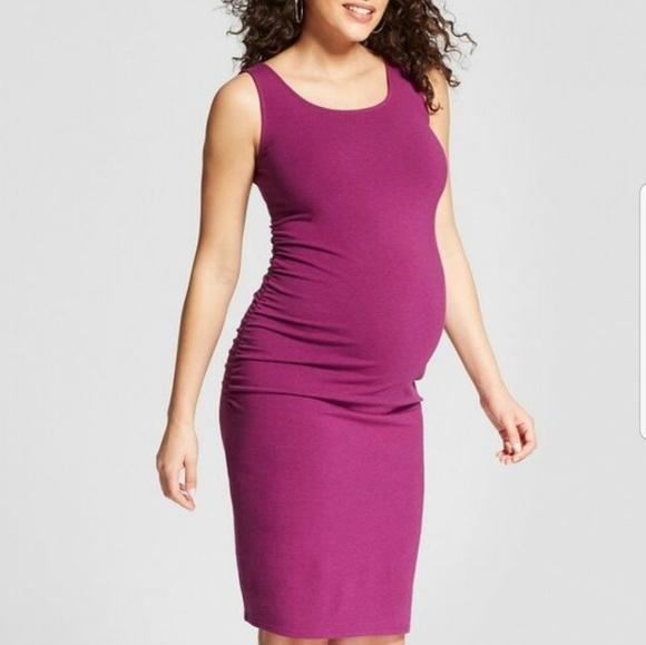 45c82fb46391c Ingrid & Isabel Dresses | Shirred Maternity Dress | Poshmark